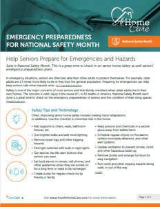 National Safety Month: Be Prepared (Free Printable Guide!)